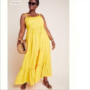 Anthropologie Maeve Arcadia Maxi Dress NWOT